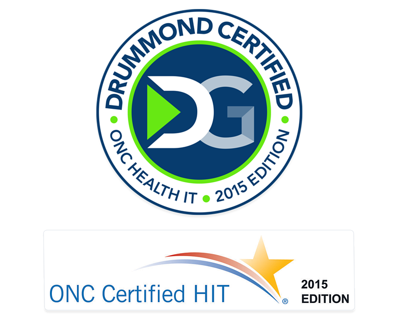 Drummond Certified and ONC Certified Hit - 2015